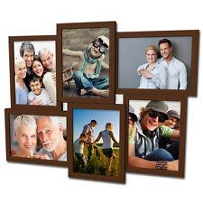 609 Bildergalerie Collage für 6 Fotos 13x18 cm 3D Optik Wandgalerie Bilderrahmen