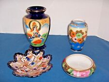 Vintage/Oriental Japanese  Porcelain Hand Painted Assorted Lot 4