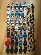 LEGO STAR WARS 35 helmeted minifigs lot (* MINT * must have troopers collection)
