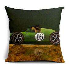 BN fashion dogs driving car LYC No.16 sports car cushion cover LINEN COTTON