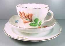 Meissen - Kaffeegedeck aus Meissner Porzellan - Blumendekor - Knaufschwerter