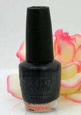 OPI Nail Polish Lacquer Light My Sapphire .5 oz Midnight Blue Black Shimmer NEW