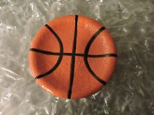 """Basketball Soap Dish, Measures approximately 4.5"""" long x 4.5"""" wide, Basket Ball"""