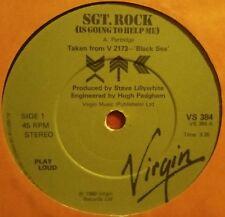 "XTC~Sgt. Rock/Living Through Another Cuba & Generals And Majors [7""@45] 1980"