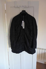 Rick Owens DRKSHDW Giacca Combo Peacoat in Black, size XL - BNWT, RRP £1270