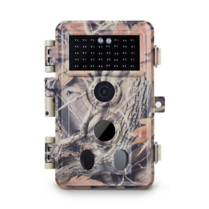 Meidase Trail Camera 16MP 1080P, Game Camera with No Glow Night Vision Up to and