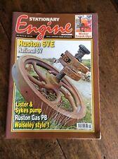 STATIONARY ENGINE MAGAZINE May 2012 No.458 Ruston 6VE Lister Wolseley National