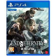 End of Eternity 4k/HD Edition PS4 PlayStation 4 Video Game Mint Cond UK Release