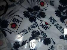 Miller Lite Penn State Hawaiian Shirt Large