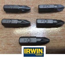 5 Irwin x PZ2 forets. marque new.quality Outil pour DIY & Pro sans fil Drivers