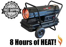 Heavy Duty Kerosene Forced Air Heater, 210K Btu/Hr Free Shipping! New! F170380