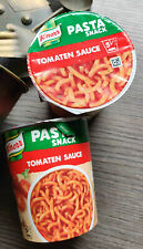 6 x Knorr Snack Becher Pasta Snack Tomaten Sauce 6 x 69 g