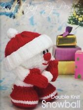 Holiday/Christmas DK/Double Knit Doll/Toy Crocheting & Knitting Patterns