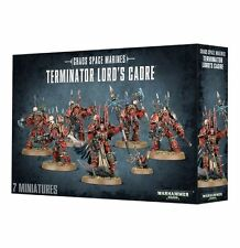 Chaos Space Marines Terminator Lords Cadre Warhammer 40k NEW