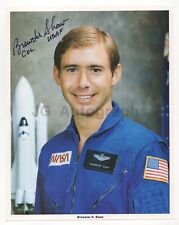 Brewster H. Shaw - Nasa Astronaut - Signed Official Nasa 8x10 Photograph
