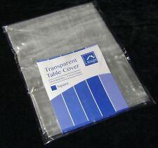 Manteles comedores de color principal transparente
