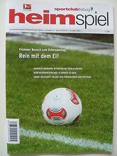 Programm Stadionheft | SC Freiburg - Mönchengladbach | 30.03.13 | Gladbach | NEU