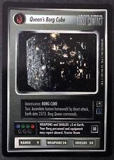 Star Trek CCG Queen Borg Cube First Contact Black Border Decipher