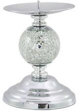 MOSAICO ARGENTO Sparkle una Palla Candeliere Portacandele decorativi