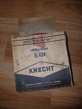 NOS Knecht EL 434 Mercedes 190C 1.9L Air Filter Opel 1.1L C15551 47704