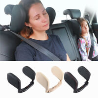 Car Seat Sleeping Headrest Backseat Travel Pillow Adjustable for Adult Children