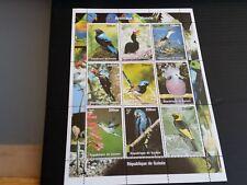 Guinea 1998 pájaros carpinteros hoja estampillada sin montar o nunca montada (H)