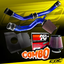 08-15 Lancer Turbo 2.0L Evo X 10 Blue Cold Air Intake + K&N Air Filter