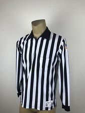 Honig's Whistle Stop Sz L Sports Football Basketball Referee Umpire stripes (D)