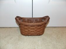* Longaberger * 2008 Journal Combo (Basket + Plastic Protector) Rich Brown Rb