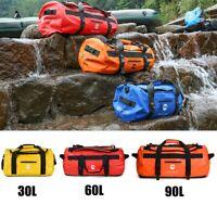 30-90L Outdoor PVC Waterproof Bag Dry Sack Storage Bag For Swimming Travel Bag