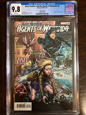 BLACK PANTHER & THE AGENTS OF WAKANDA 6 CGC Grade 9.8 (4/20) Gwen Stacy Variant