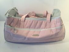 Dickies Genuine Pink Quilted Duffle Gym Travel Bag *EUC*