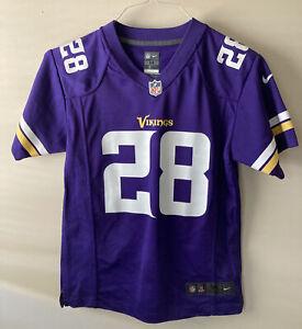 Adrian Peterson #28 Minnesota Vikings Nike Boys NFL Jersey Youth Medium 10-12