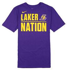 Nike los Ángeles Lakers Nation Camiseta TALLA M Mediano Lila Elite Baloncesto