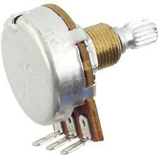 "Bourns Knurled Shaft 3/8"" Bushing Potentiometer, 500K Log/Audio"