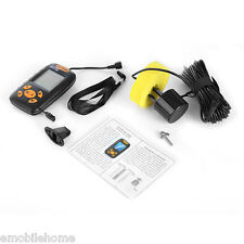 PORTABLE FISH FINDER SONAR DEPTH SOUNDER WITH ALARM Wire Fish Finder Portable