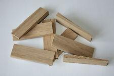 Traditional Sash Window Slim Wedges Solid Oak 8 pack 6.5 x 2cm Taper 0.7 - 0.2cm