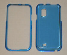 Samsung Fascinate i500 Crystal Hard Plastic Case BLUE