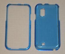 Samsung Fascinate i500 Crystal Hard Plastic Case BLUE