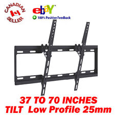 "37-70"" LCD PLASMA LED TV TILT WALL MOUNT BRACKET SLIM 40 41 42 47 50 51 55 60 65"