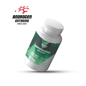 Ashwagandha Organic 90 Capsules, Dietary Supplement, Androgen Extreme