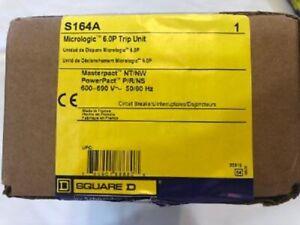 Brand New Micrologic S164A  6.0 P TRIP UNIT  Factory sealed box