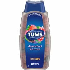 TUMS ANTACID Assorted BERRIES Ultra Strength 1000 265Tablets