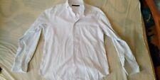 Ungaro Herren Hemd Shirt Gr 40-15 3/4 Weiss gestreift 100% Baumwolle TOP!!!