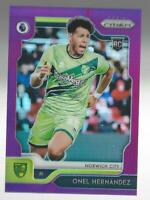 ONEL HERNANDEZ 2019-20 PANINI PRIZM PREMIER LEAGUE PURPLE REFRACTOR /99 MADE EPL