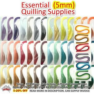 5mm 54cm PAPER QUILLING STRIPS Lucky Star Paper Craft DIY Gift Quiling Craft
