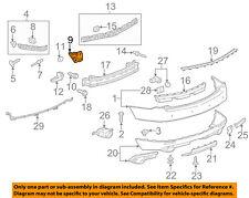 Cadillac GM OEM 10-16 SRX Rear Bumper-Inner Bracket Right 20904550