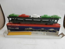 Hornby HO 7292 Wagon porte-voitures Minix complet boite Meccano Triang
