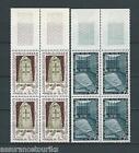 LIEUX DE LA RÉSISTANCE - 1963 YT 1380 à 1381 blocs de 4 - TIMBRES NEUFS** LUXE