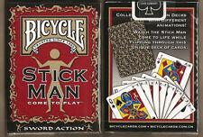 Carte da gioco BICYCLE STICK MAN,poker size